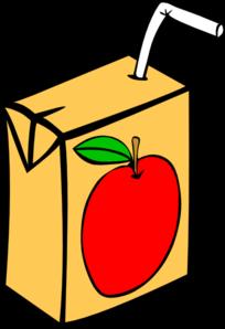 kartonik soku jabłkowego ze słomką
