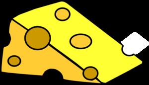 kawałek żółtego sera