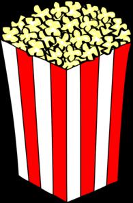pudełko z popcornem