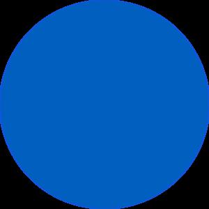 niebieskie koło