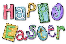 napis w języku angielskim Happy Easter