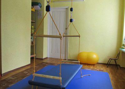 hustawka platforma w sali do terapii SI