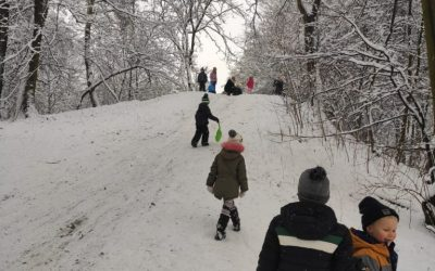 Zabawy na śniegu :)